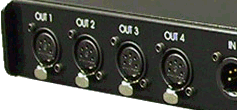 DMX-512 Output Connectors