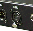 DMX-512 Thru Connection